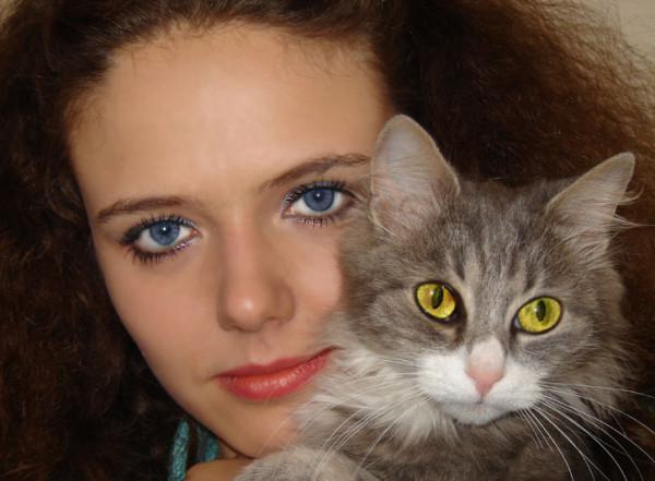 Любовь к кошкам
